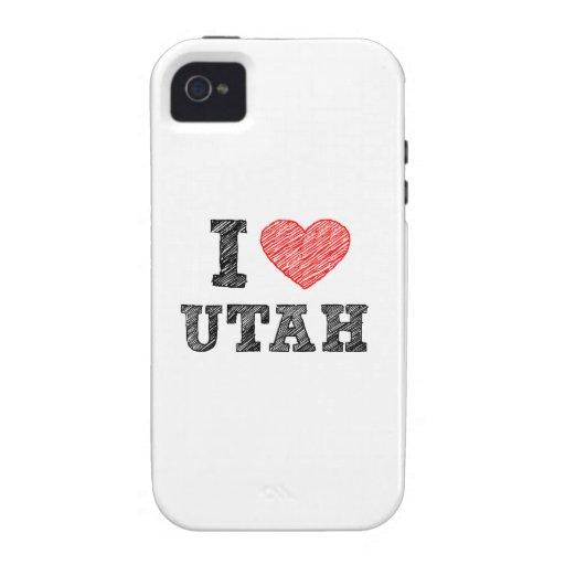 I-love-Utah.png iPhone 4 Carcasa