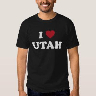 I Love Utah Tee Shirt