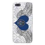 I Love Utah -wings Case For iPhone 5