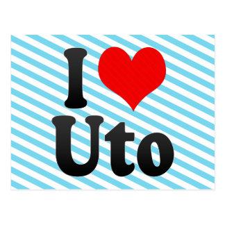 I Love Uto, Japan Postcard
