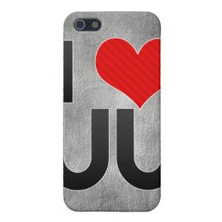 I Love UU Case For iPhone 5