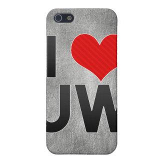 I Love UW iPhone 5 Covers