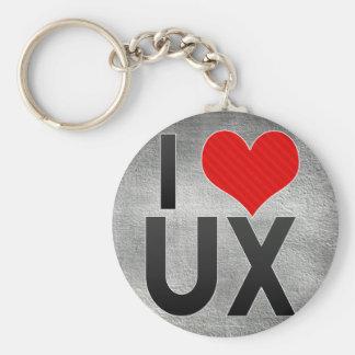 I Love UX Keychain