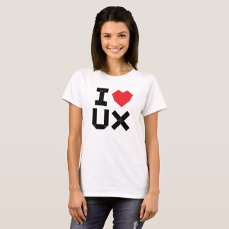 I Love UX (User Experience) T-Shirt