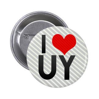 I Love UY Pinback Button