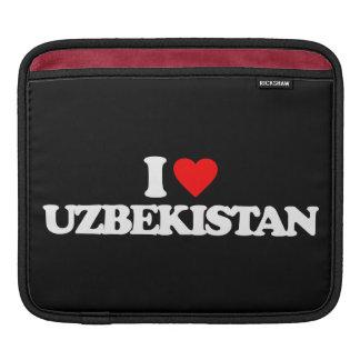 I LOVE UZBEKISTAN iPad SLEEVES