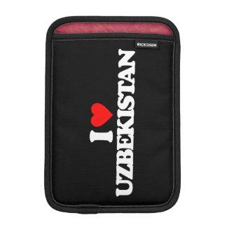 I LOVE UZBEKISTAN SLEEVE FOR iPad MINI