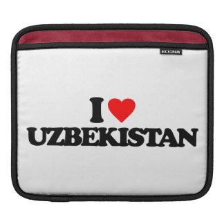 I LOVE UZBEKISTAN SLEEVES FOR iPads