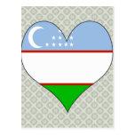 I Love Uzbekistan Post Card