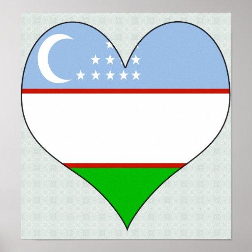 I Love Uzbekistan Poster