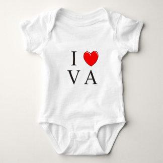 I love VA Baby Bodysuit