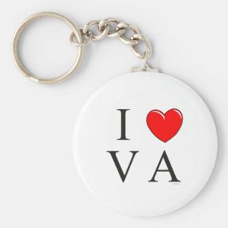 I love VA Keychain