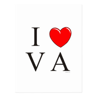 I love VA Postcard
