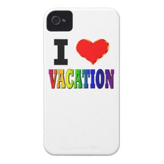 I Love Vacation Case-Mate iPhone 4 Case