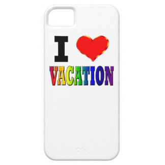 I Love Vacation iPhone SE/5/5s Case