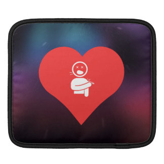 I Love Vaccines Design Sleeve For iPads