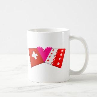I Love Valais Classic White Coffee Mug