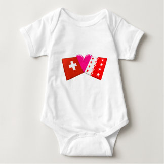 I Love Valais Infant Creeper