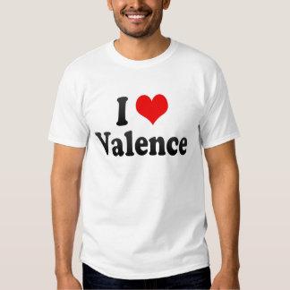 I Love Valence, France Shirts