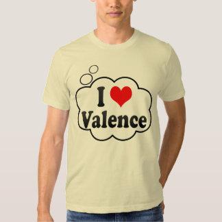 I Love Valence, France Tee Shirts