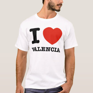 I Love Valencia T-Shirt