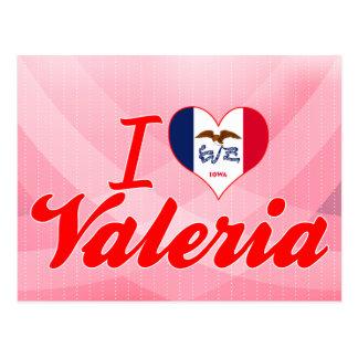 I Love Valeria, Iowa Postcard