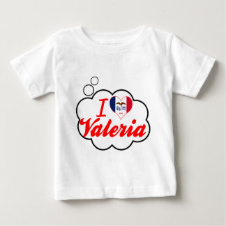 I Love Valeria, Iowa T Shirt