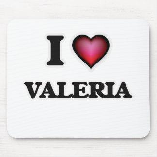 I Love Valeria Mouse Pad