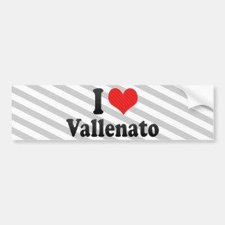 I Love Vallenato Bumper Sticker