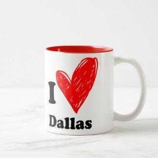 I love valley mow Two-Tone coffee mug