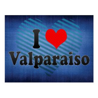 I Love Valparaiso, Chile Postcard