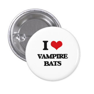 I love Vampire Bats Pin
