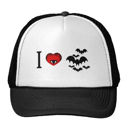 I Love Vampire Bats Trucker Hat