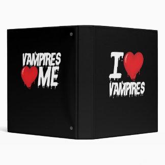 I love vampires binder