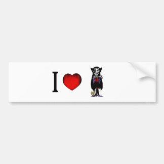 I Love Vampires Bumper Sticker