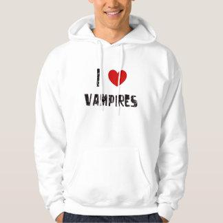 I love vampires hoodie