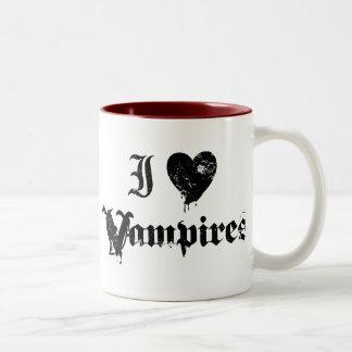 I Love Vampires Mugs