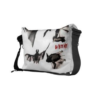 I love vampires. So Bite Me! Courier Bag