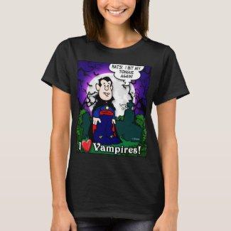 I Love Vampires T-Shirt