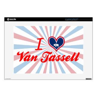 I Love Van Tassell, Wyoming Laptop Skin