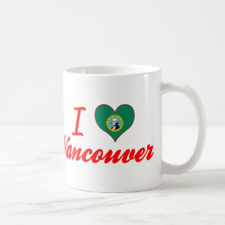 I Love Vancouver, Washington Coffee Mugs