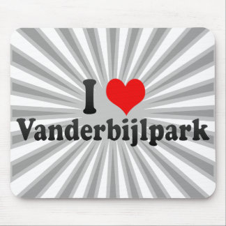 I Love Vanderbijlpark, South Africa Mouse Pads