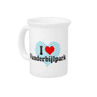 I Love Vanderbijlpark, South Africa Drink Pitcher