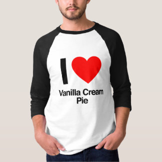 i love vanilla cream pie T-Shirt