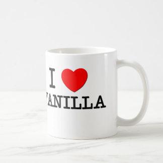 I Love Vanilla Classic White Coffee Mug