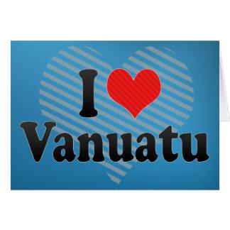 I Love Vanuatu Card