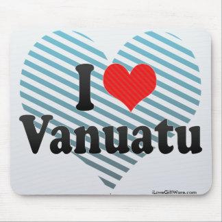 I Love Vanuatu Mousepad
