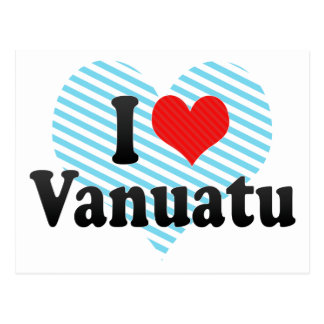 I Love Vanuatu Postcards