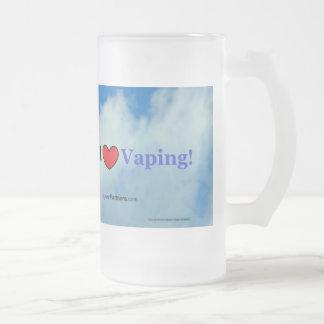 I Love Vaping - Frosted Mug