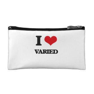 I love Varied Cosmetic Bag